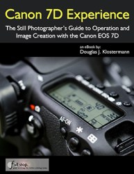 Canon 7D EOS book e book ebook guide manual tutorial how to instruction for dummies 7d mark i mk i