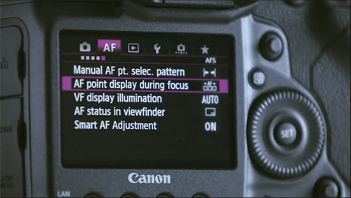 canon autofocus af system