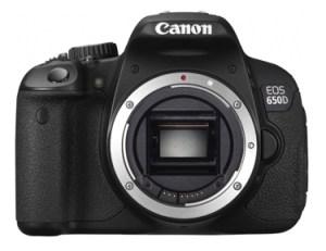 Canon Rebel T4i EOS 650D