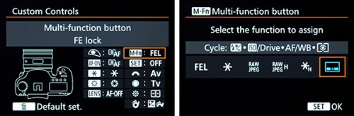 Canon 7D Mark II button customize custom setting setup recommend quick start control tips tricks