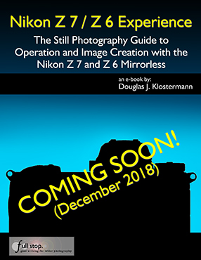 Nikon Z 7 Nikon Z 6 book manual guide how to use recommend settings setup