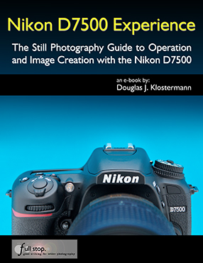Nikon D7500 book manual guide how to use learn tips tricks setup setting quick start