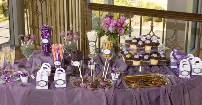 Red Candy Buffet Bar Table Ideas For Weddings