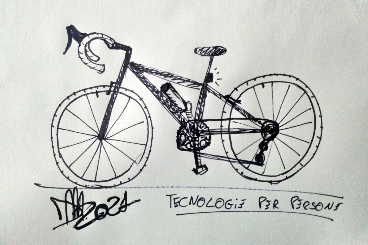 La bicicletta di Domenico Monaco per Velocipedia di Gianluca Gimini