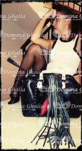 Domina Ghalia lista para el viaje