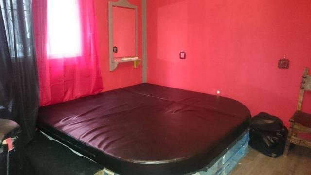 cama mazmorra roja