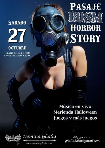 cartel pasaje bdsm