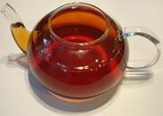 A pot of tea.