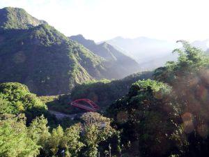 View from Dabang Village Alishan Taiwan