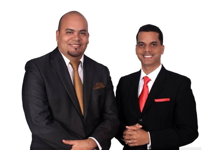 Josué Polanco y Ronny Peña