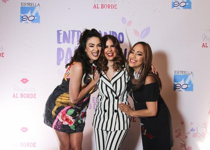 Gaby Desangles, Ingrid Gómez y Diana Filpo