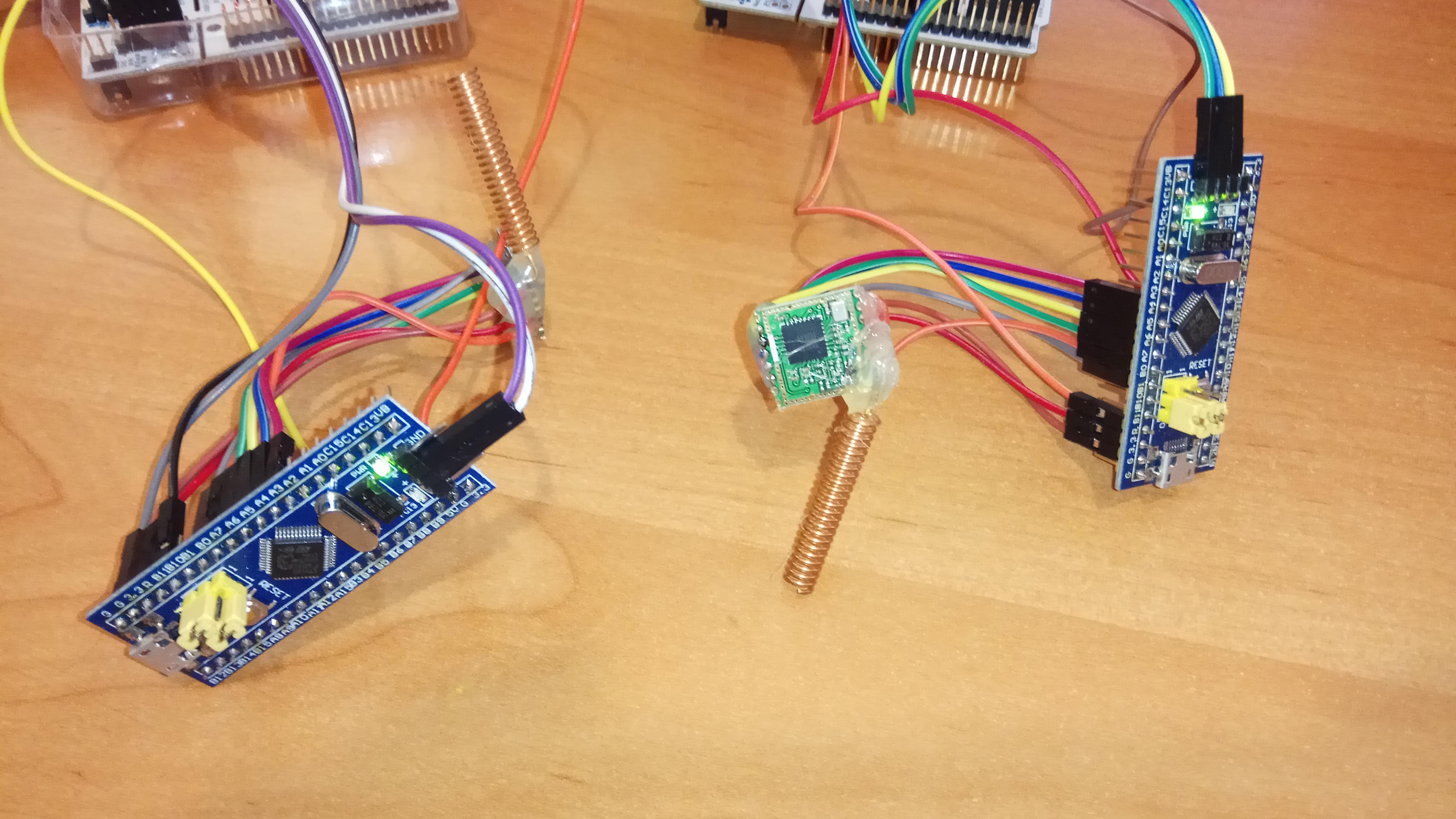 STM32 HAL driver for LoRa SX1278 wireless module | Wojciech Domski Blog