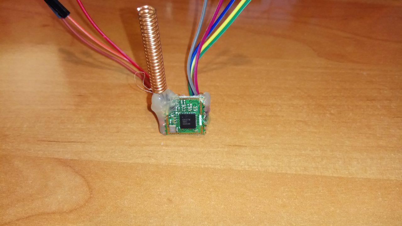 STM32 HAL driver for LoRa SX1278 wireless module | Wojciech