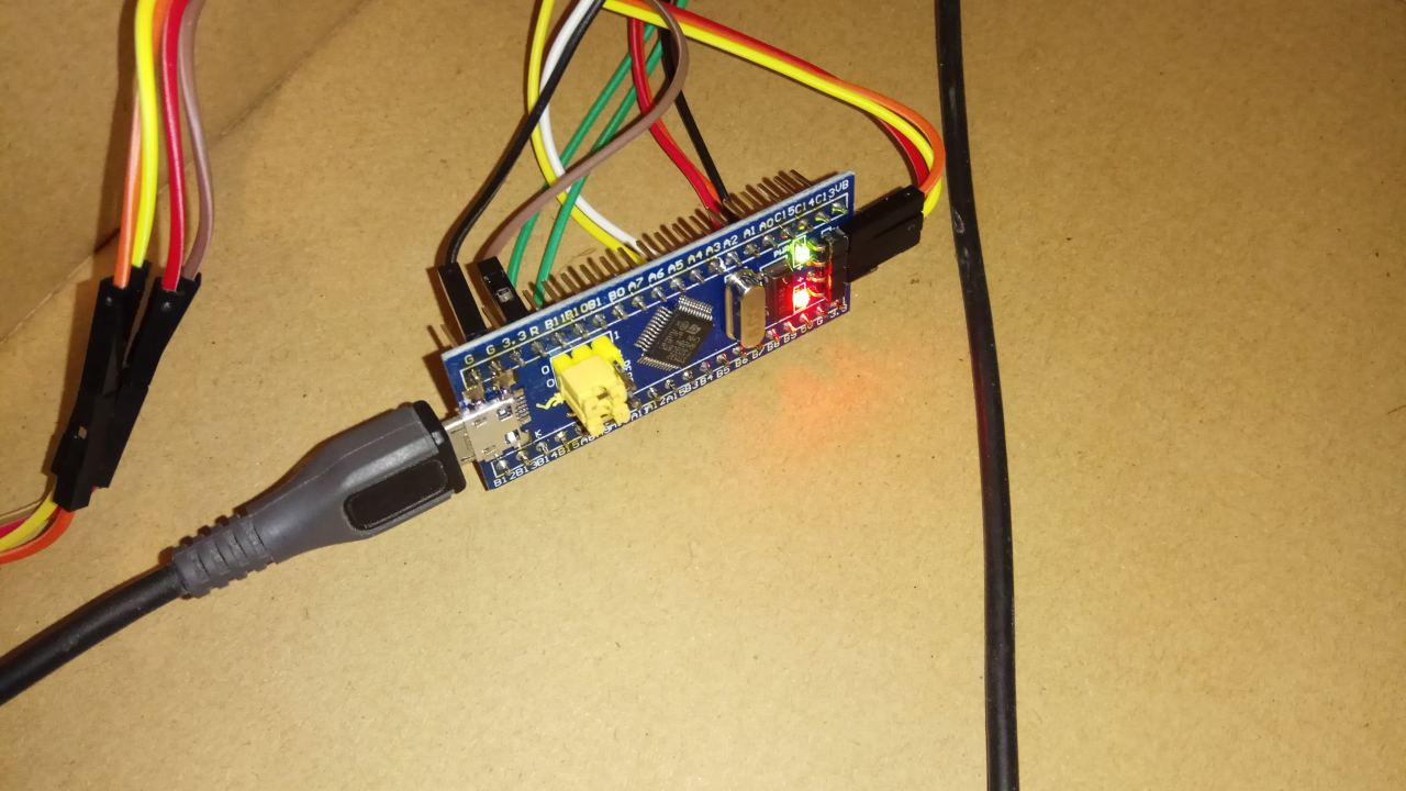 Simple Project Using Stm32