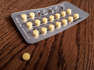 The birth control pill influences brain and behavior