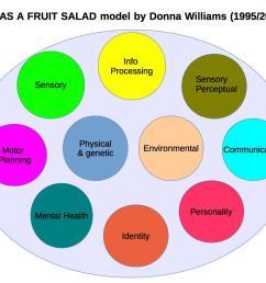 autism as a fruit salad model 2 [ 1135 x 852 Pixel ]