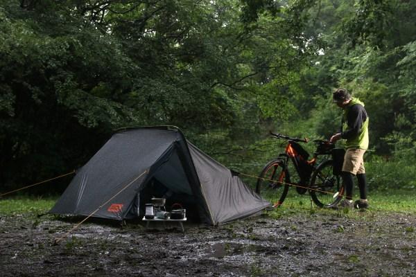 前室が広いソロテント、ソロキャンプ向けの軽量テント