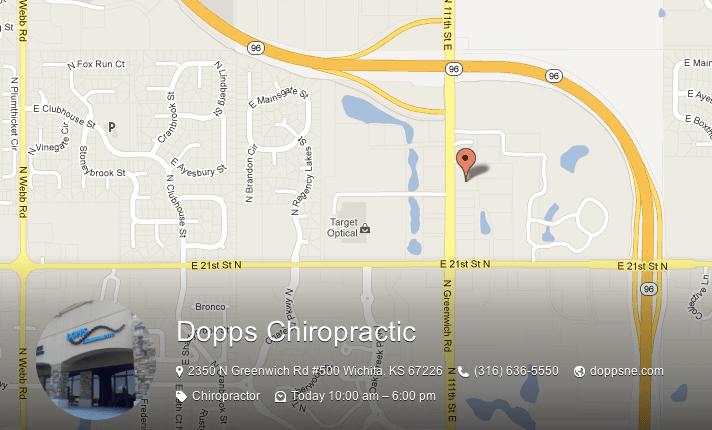 Dopps Chiropractic - Map