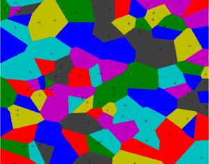 Pavage de Voronoï