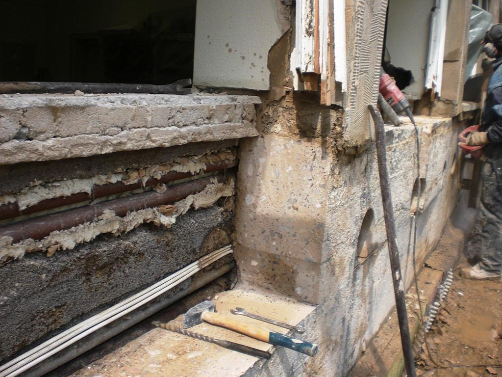 Fenster Vergrößern In Beton Und Mauerwerk - Dornbach Spezialabbruch Blog