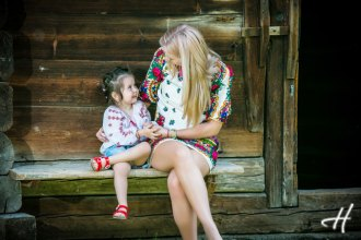 fotografii mama fiica