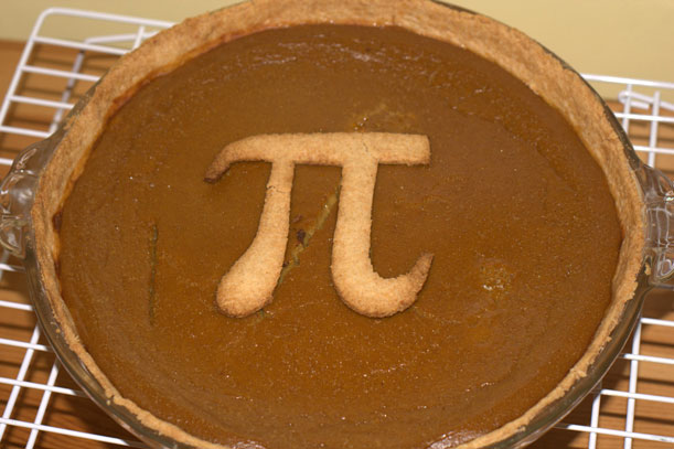 Pi approximation day is a good excuse for a tasty treat! Image: Flickr.com/pauladamsmith