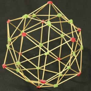 a large polyhedral ball.