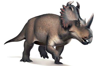 Illustration of dinosaur Centrosaurus