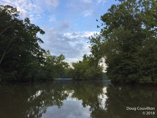 Photograph of the James River near Huguenot Flatwater in Richmond, Virginia by Doug Couvillion