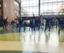 Raunaq Club flash mob perform dance in concourse