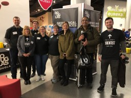 Students and faculty represented the Science and Technology department at the Science World Faculty Faceoff on Feb. 15.