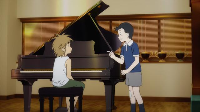 Image result for piano no mori anime