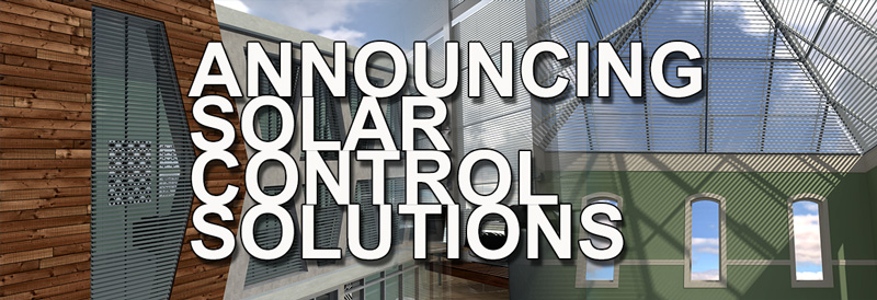 Draper Announces New Solar Control Solutions Line of Products