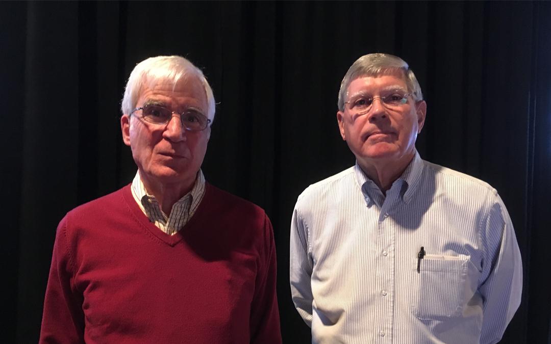 John and Mike Celebrate 50 Years at Draper