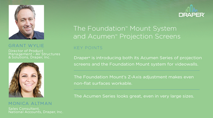 Ep.5: The Foundation™ Mount System and Acumen™ Projection Screens