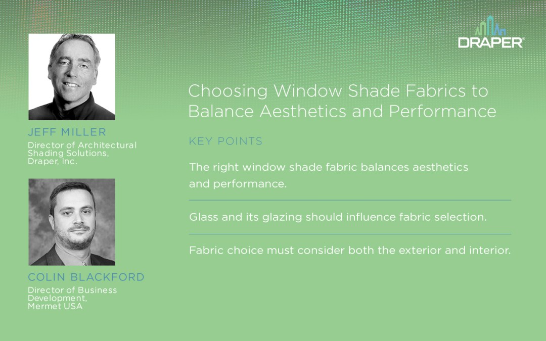 New Podcast Looks at Shade Fabric Selection
