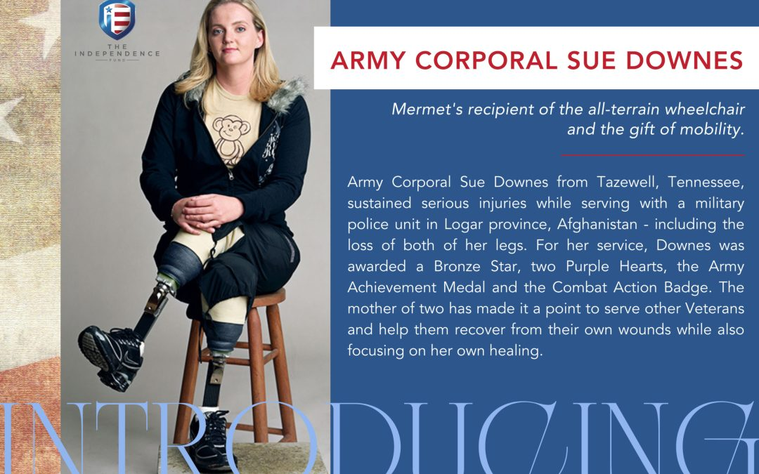 Draper Supports Wounded Veteran with Mobility Chair Campaign