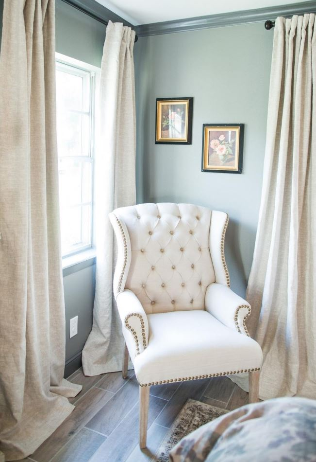 how to make living room curtains l shaped dining furniture placement fixer upper style at drapestyle -