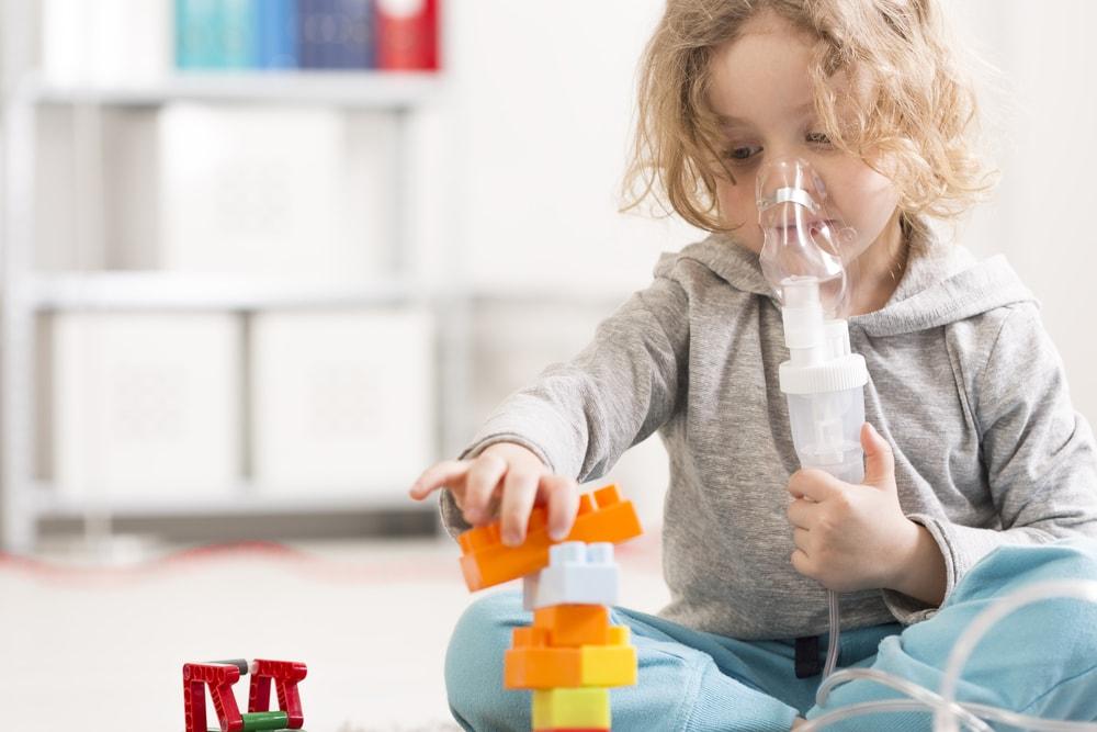 Conheça as 5 doenças respiratórias mais comuns durante a infância