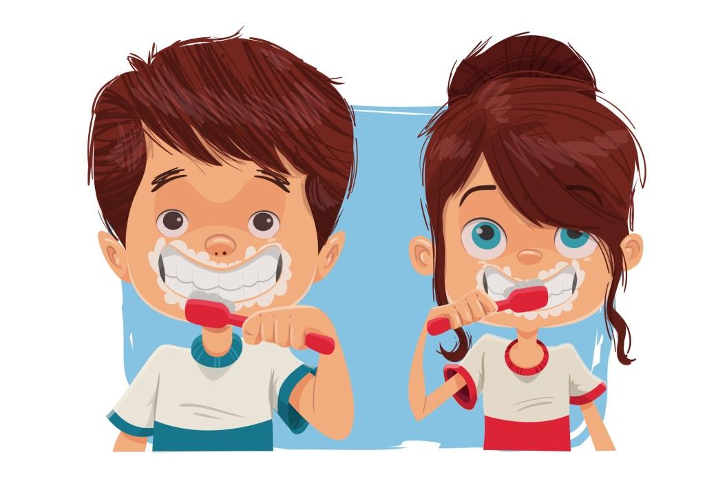 Como escovar os dentes das crianças?