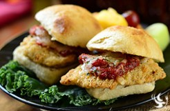 Parmesan Chicken Sliders