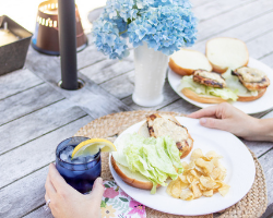 Dream Dinners Grilled Chicken Caesar Sandwiches
