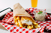 Dream Dinners Cod Fish and Chips