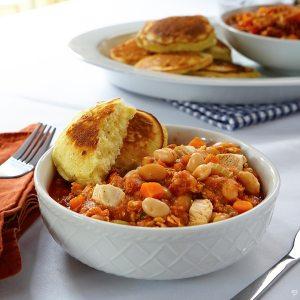 fall crockpot recipe chicken and white bean chili