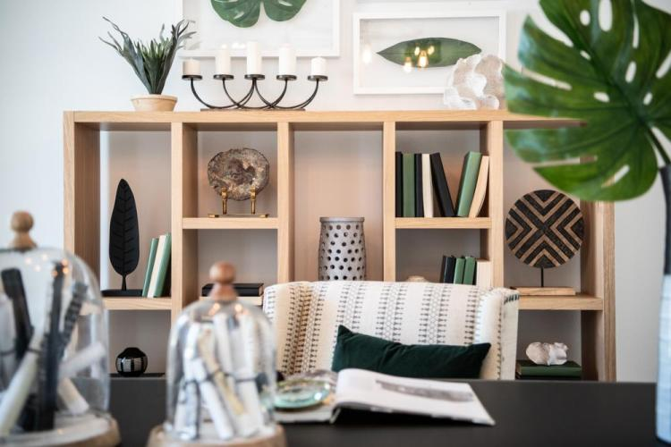 Emerging Home Design Philosophies That Will Dominate in 2021 | The Rowland Study with Desk | Drees Homes