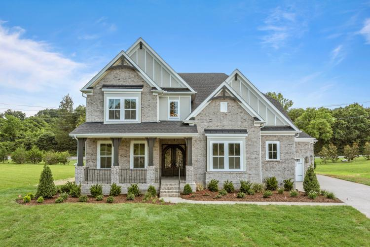 New Drees home at the Enclave at Dove in Nolensville, Tennessee