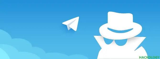 Anonymous Group Administrators in Telegram