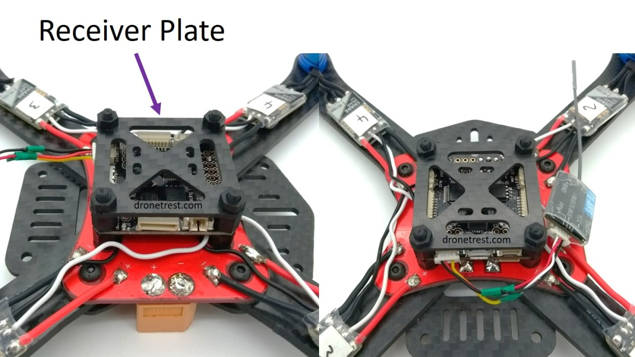 Martian-III-220-build-attaching-receiver-plate-1