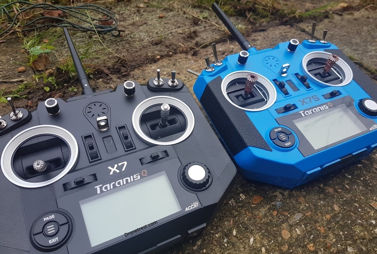 Frsky Taranis 🌩️ Q X7 VS Q X7S Compared 🎮 – Which one