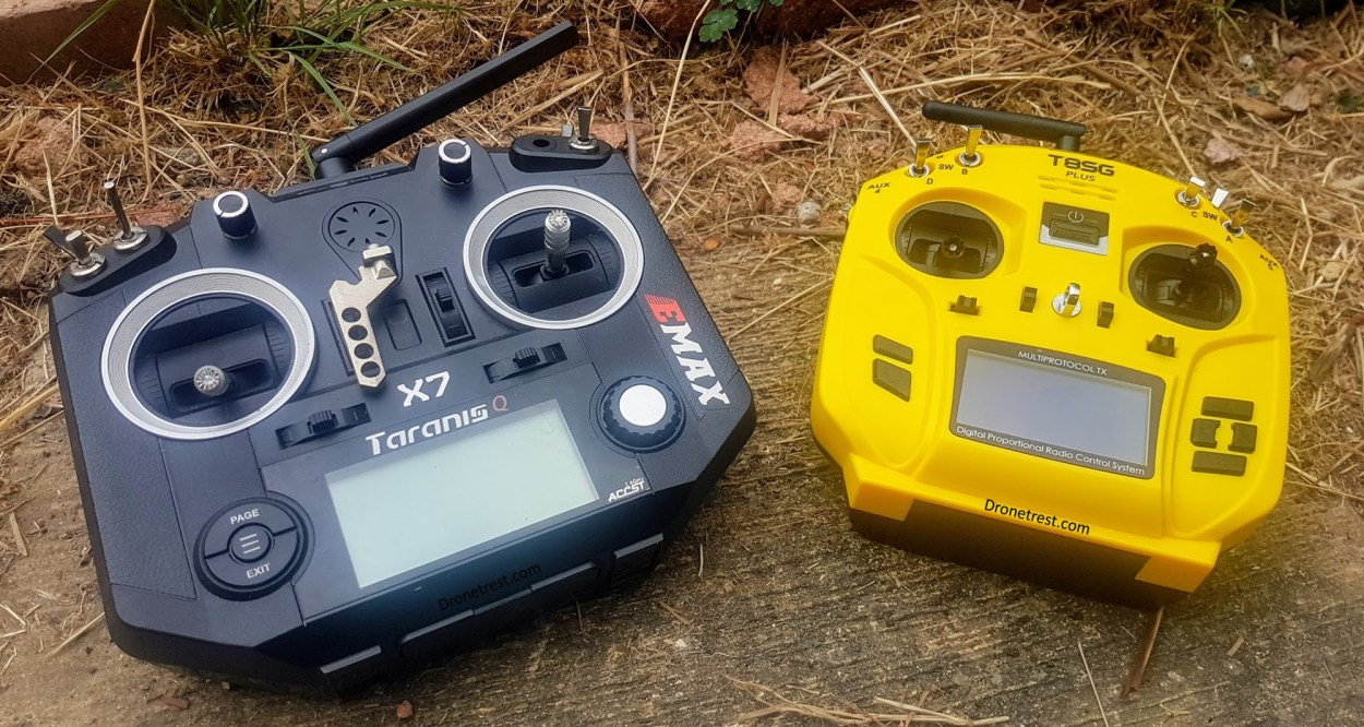 Taranis QX7 🎮 vs Jumper T8SG V2 Plus Comparison